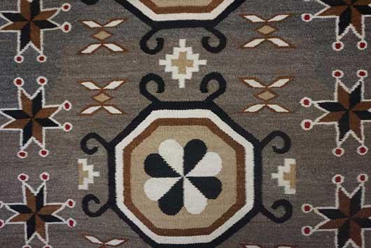 Bisti Navajo Rug with Cherries 743 Photo 003
