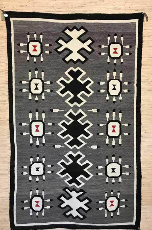 Bisti Navajo Weaving 1153 Photo 001