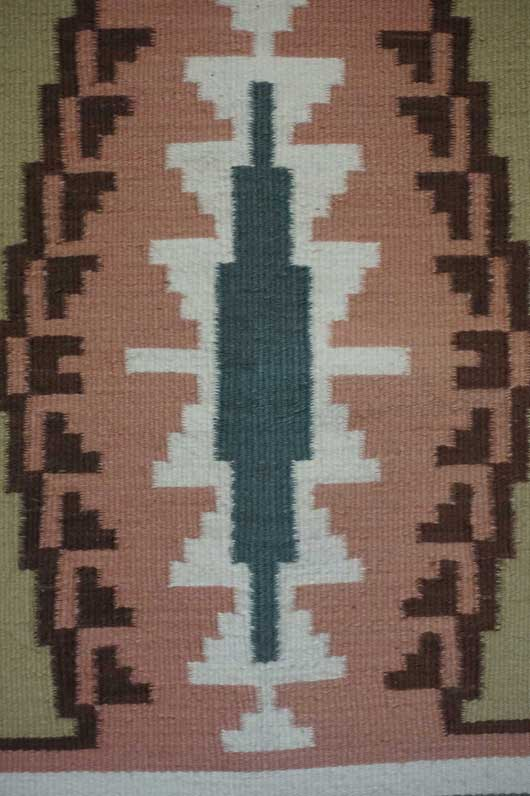 Burntwater Navajo Rug Weaving for Sale by Violet Hosteen 988