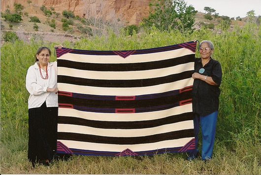 Navajo Chiefs' Saddle Blanket Steve Getzwiller Commission