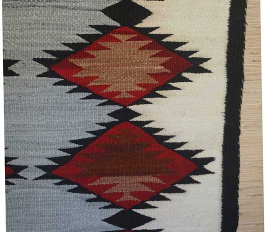 Chinle Navajo Double Saddle Blanket 1024