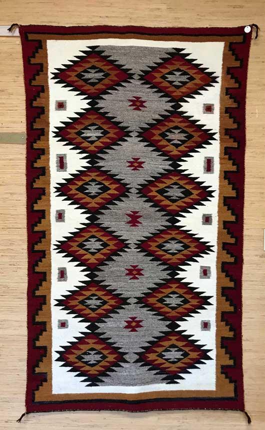 Chinle Navajo Rug 1100