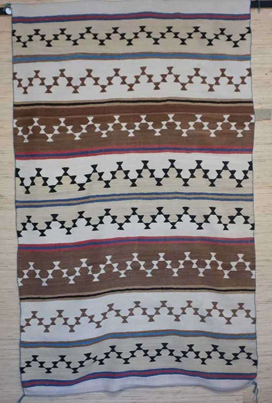 Chinle Revival Banded Navajo Blanket 1108 Photo 001