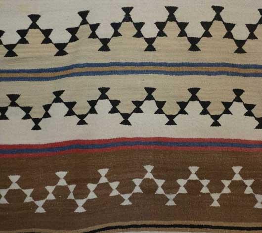 Chinle Revival Banded Navajo Blanket 1108 Photo 002