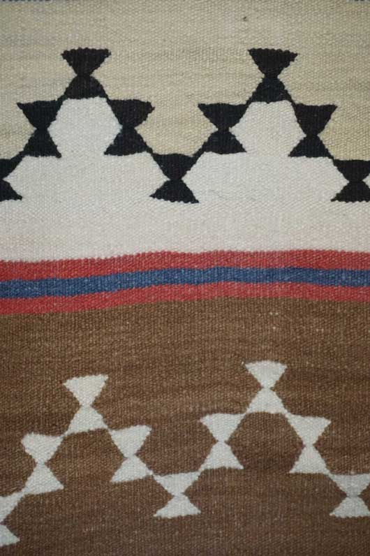 Chinle Revival Banded Navajo Blanket 1108 Photo 003