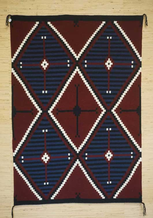 Contemporary Moki Navajo Rug 1120 Photo 001