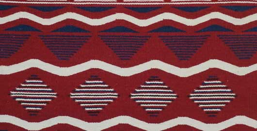Contemporary Navajo Childs Blanket 1105 Photo 002