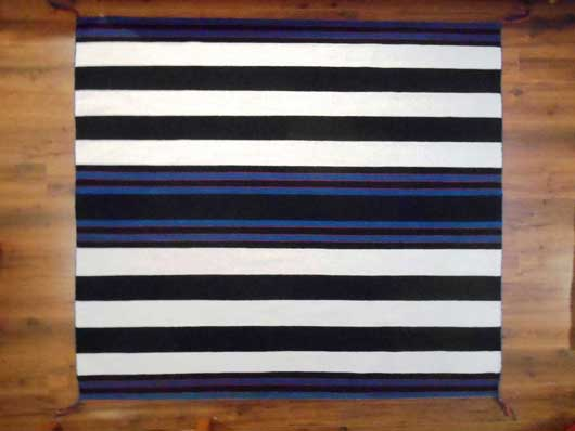 Contemporary Navajo First Phase Chief's Blanket by Betty Joe 980