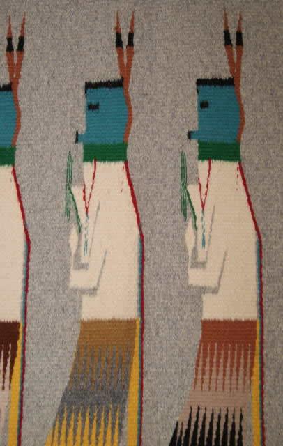 Yei Be Chei Navajo Rug Weaving For Sale