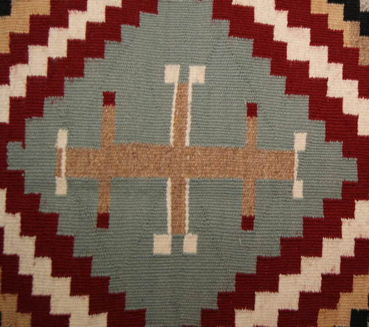Chief White Antelope Revival Contemporary Navajo Rug For Sale Circa 1990 Photo 10