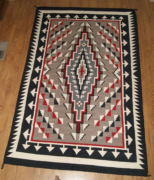 Klagetoh Navajo Rug Weaving