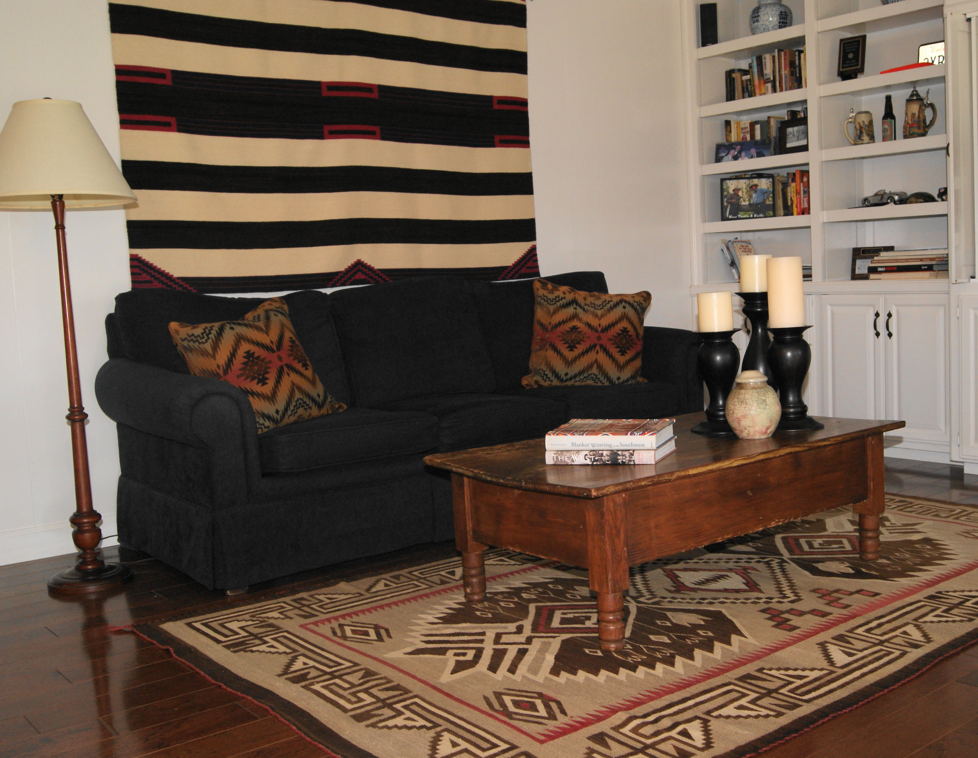 Decorating with Navajo Rugs by Charleys Navajo Rugs