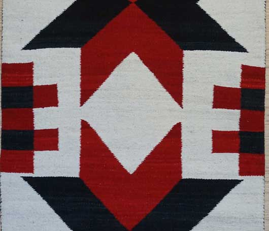 Double Valero Stars Navajo Saddle Blanket 248