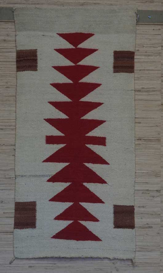 Gallup Throw Navajo Rug 1023