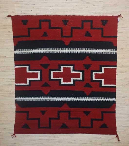 Ganado Navajo Rug 1015