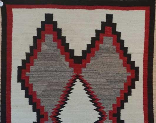 Ganado Navajo Rug 1032