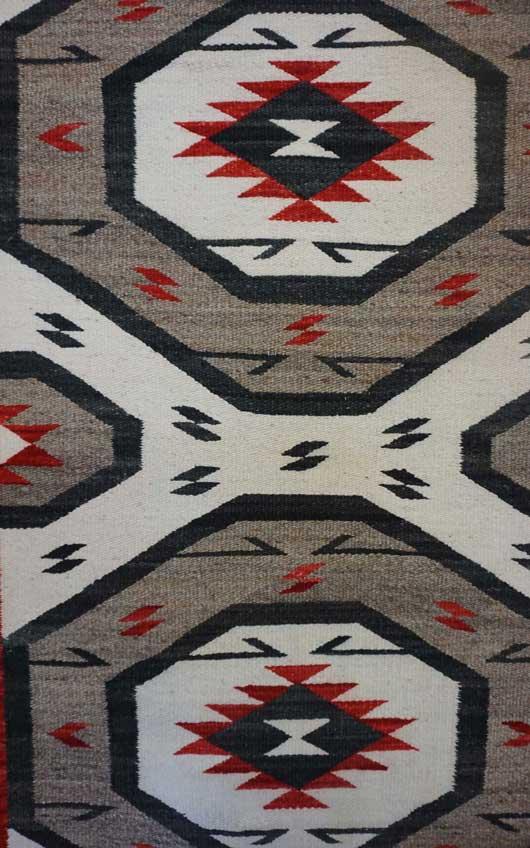 Ganado Navajo Rug 873