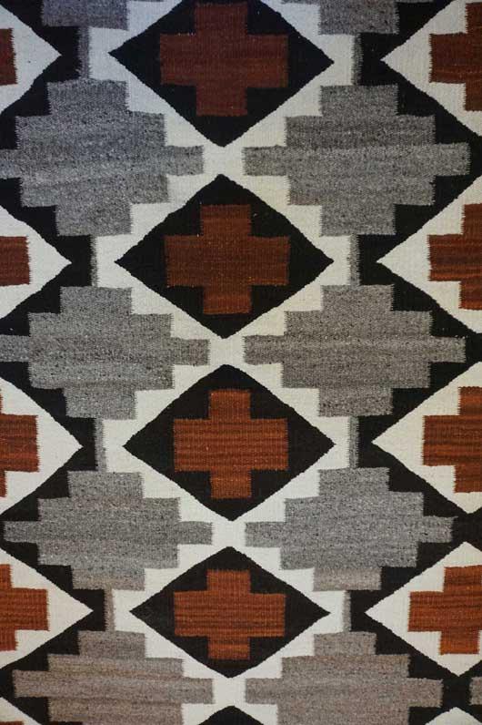 Ganado Navajo Rug 941