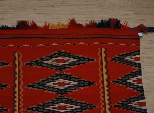 Germantown Borderless Navajo Blanket for Sale 1143 Photo 002