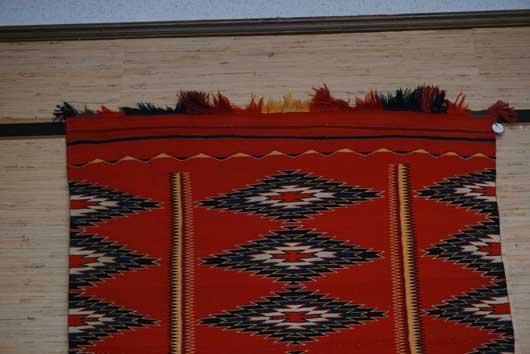 Germantown Borderless Navajo Blanket for Sale 1143 Photo 003