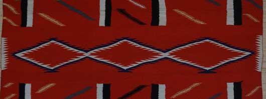 Germantown Navajo Blanket 1128 Photo 003