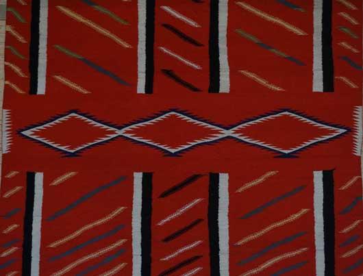 Germantown Navajo Blanket 1128 Photo 004