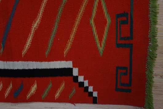 Germantown Navajo Blanket 1128 Photo 005