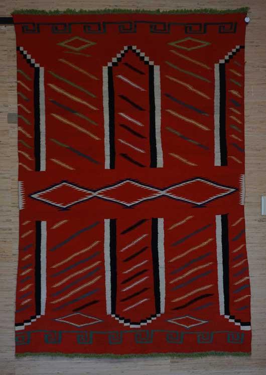 Germantown Navajo Blanket 1128 Photo 006