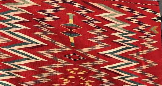 Germantown Navajo Blanket 1148 Photo 004