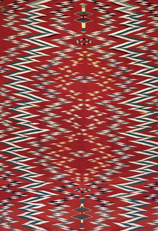 Germantown Navajo Blanket 1148 Photo 005
