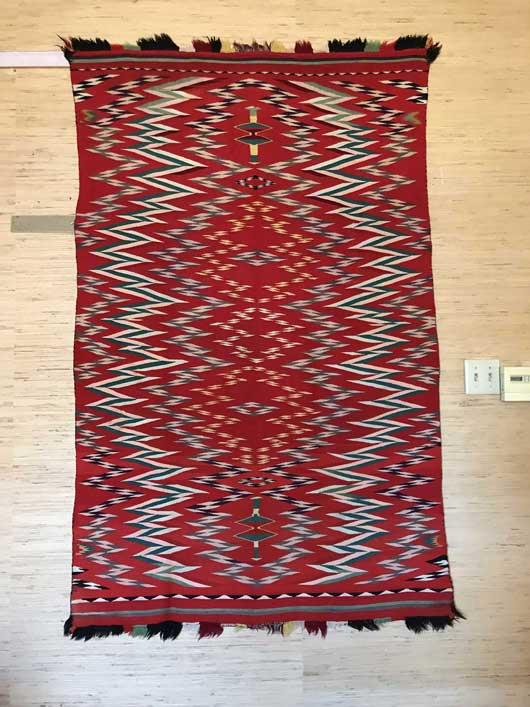 Germantown Navajo Blanket 1148 Photo 006