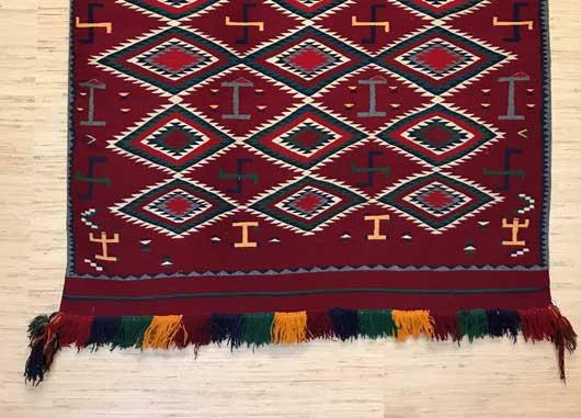 Germantown Navajo Pictorial Blanket 1151 Photo 003