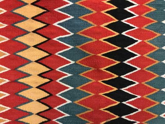 Germantown Navajo Single Saddle Blanket Sunday Saddle 1150 Photo 003
