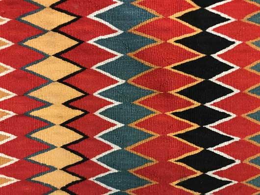 Germantown Navajo Single Saddle Blanket Sunday Saddle 1150 Photo 004