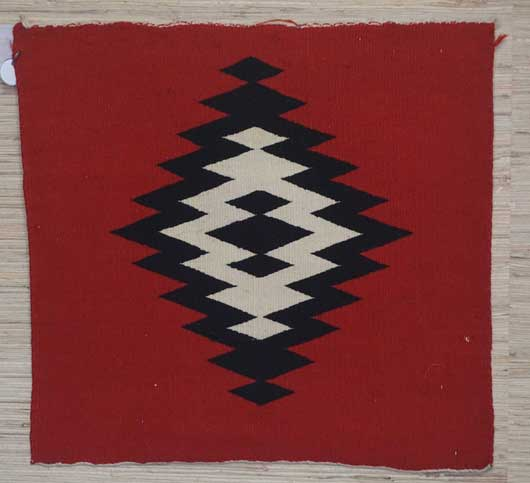 Germantown Sampler Weaving Navajo Rug for Sale 875 for Sale