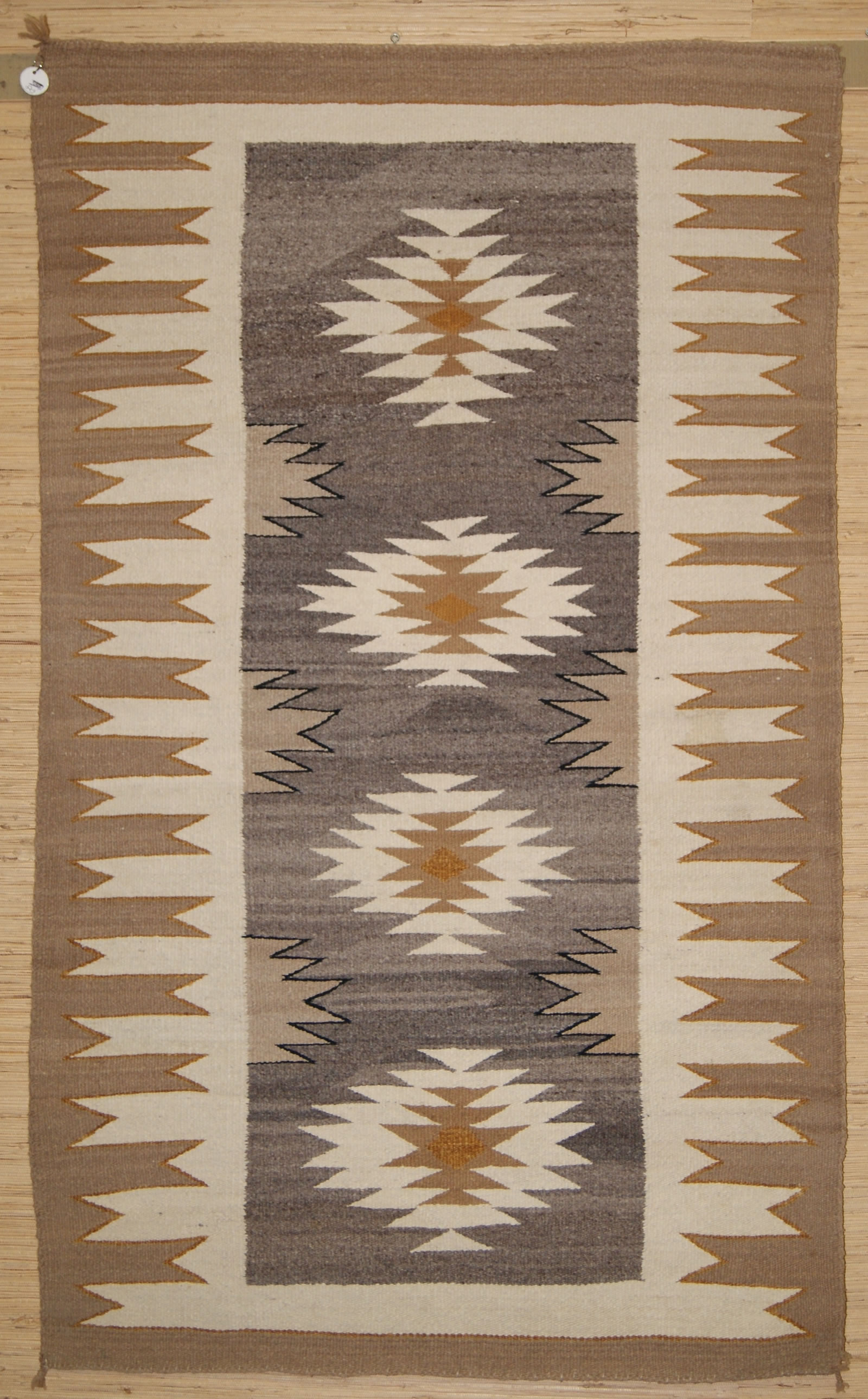 Navajo Double Saddle Blanket For Sale