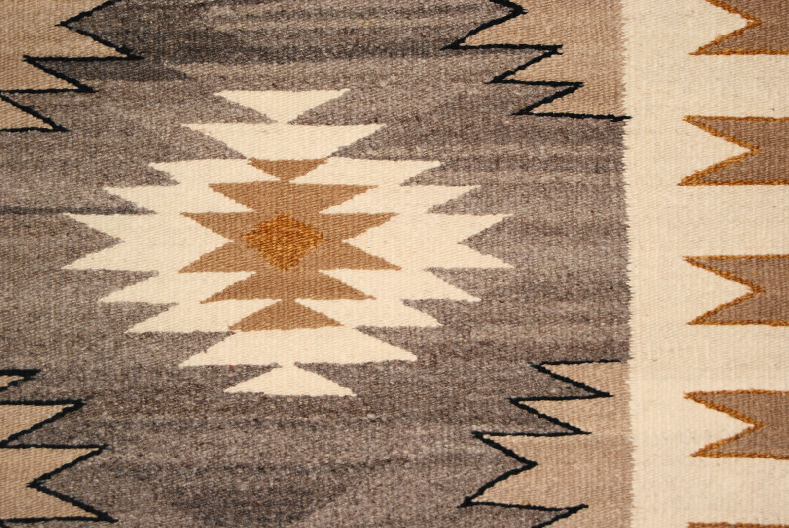 Navajo Double Saddle Blanket For