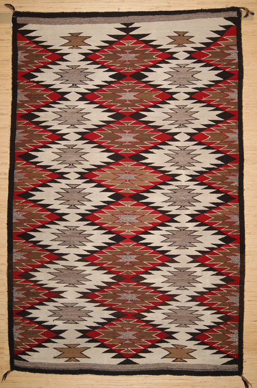 Historic Eye Dazzler Navajo Rug For Sale