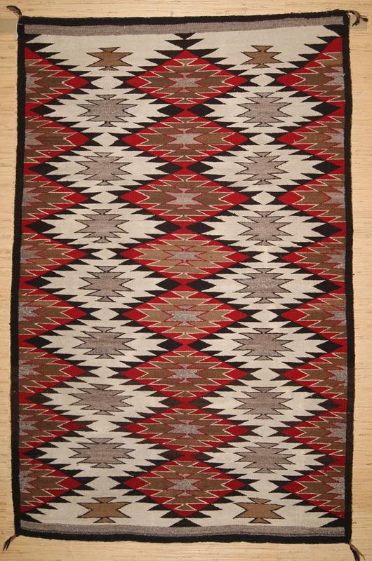 Historic Eye Dazzler Navajo Rug For Sale