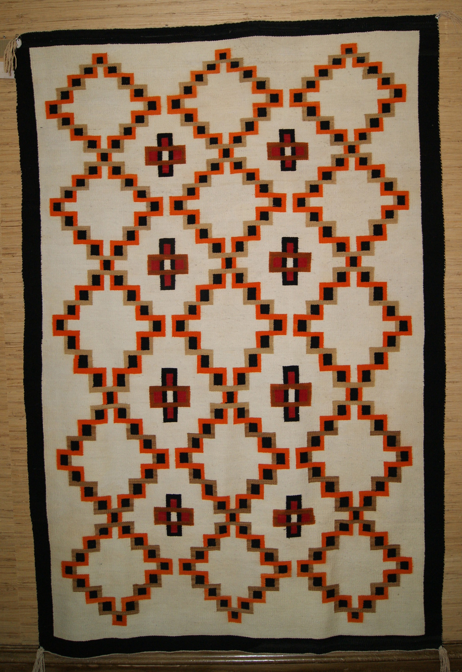 Historic J B Moore Crystal Trading Post Variant of Plate V of 1903 Catalog Navajo  Rug Weaving