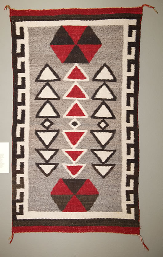 Crystal Trading Post Ganado Navajo Rug For Sale Photo 1