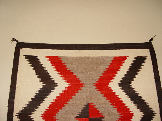 Superior ... 111 5 1930 Crystal Serrated Lightening Pattern Navajo Indian Rugs Before 1940 530px  ...