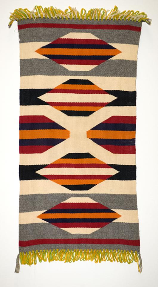 Germantown Table Runner Navajo Weaving
