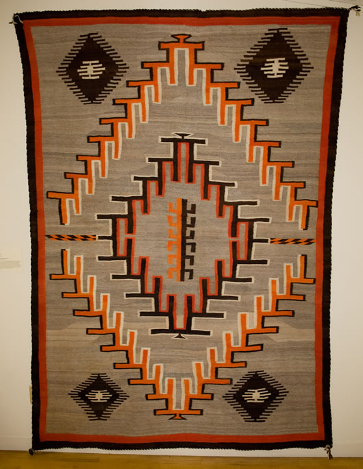 Transitional Navajo Rug