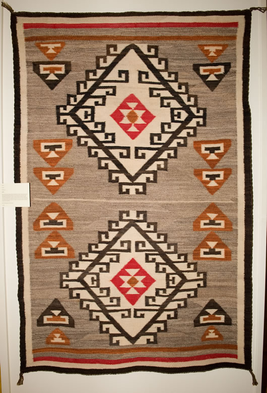 Antique Crystal Navajo Rug