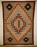 Transitional Navajo Textile Weaving