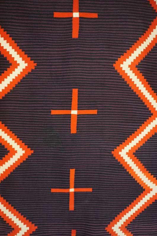 Hubble Germantown Moki Navajo Blanket 1117 Photo 005