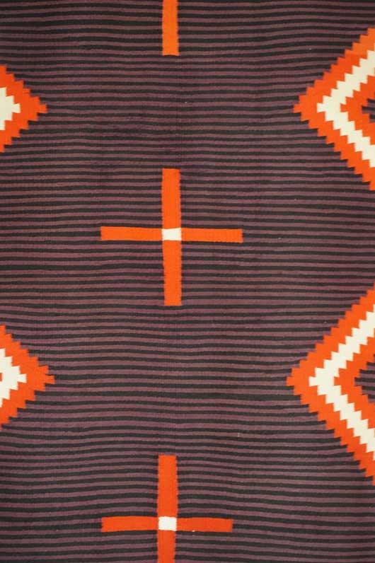 Hubble Germantown Moki Navajo Blanket 1117 Photo 006