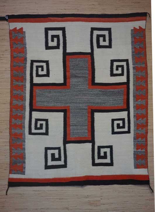 J. B. Moore Crystal Trading Post Navajo Rug for Sale 959 for Sale