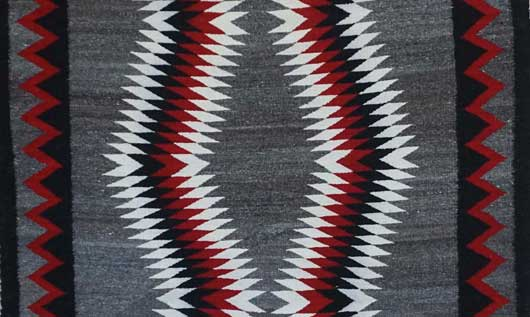JB Moore Crystal Navajo Rug 1110 Photo 002